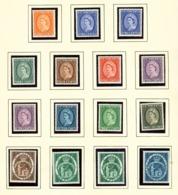 ST VINCENT - 1955 Definitives Set Unmounted/Never Hinged Mint - St.Vincent (...-1979)