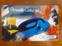 Télécarte NC 36 - Poisson Tropical - Puce GEM1A - Numérotée - TBE - Nouvelle-Calédonie