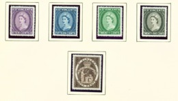 ST VINCENT - 1964-5 Definitives Perf 121/2 Set Unmounted/Never Hinged Mint - St.Vincent (...-1979)
