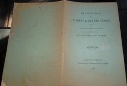 De L'influence Des Forêts & Des Cultures Régime Des Sources 1894  Jules Maistre Clermont L'hérault - Documentos Antiguos