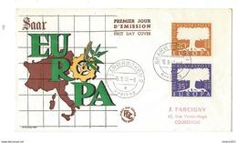 1 FDC Duitsland - Europa-CEPT