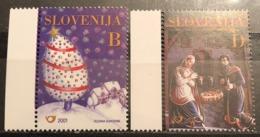 Slovenia, 2001, Mi:  373/74 (MNH) - Slovenia