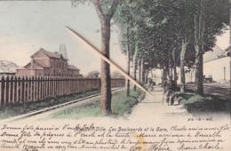 Nieuport-Ville, Les Boulevards Et La Gare, Perfecte Staat - Nieuwpoort