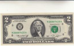 Banconota Da 2 Dollari USA 1976  Serie H Missouri - Jefferson - - Missouri
