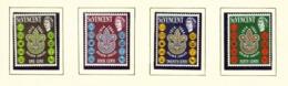 ST VINCENT - 1964 Scouts Set Unmounted/Never Hinged Mint - St.Vincent (...-1979)