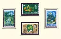 ST VINCENT - 1965 Botanic Gardens Set Unmounted/Never Hinged Mint - St.Vincent (...-1979)