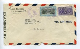 PANAMA COMMERCIAL COVER - CIRCULATED TO NEW YORK, U.S.A.. YEAR 1942 VIA AIR MAIL  -LILHU - Panamá