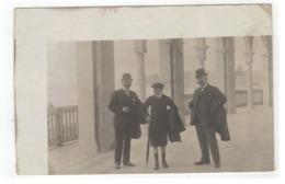 Oostende Oude Fotokaart (personen Uit Antwerpen Cassiers) - Oostende