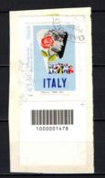 ITALIA - 2012 - MANIFESTO STORICO ENIT DEL 1955 - CON CODICE A BARRE - USATO - 6. 1946-.. Repubblica