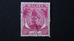 Malaysia - Selangor - 1949 - Mi:MY-SE 61, Sn:MY-SE 86, Yt:MY-SE 53, Sg:MY-SE 98 O - Look Scan - Selangor