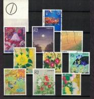 Japan 2017.06.07 Greetings, Japanese Paintings (used)① - 1989-... Empereur Akihito (Ere Heisei)