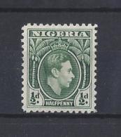 NIGERIA.....KING GEORGE VI.(1936-52)....HALFd.....SG49...MH... - Nigeria (...-1960)