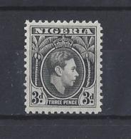 NIGERIA.....KING GEORGE VI.(1936-52)....3d.....SG53b.......MH... - Nigeria (...-1960)