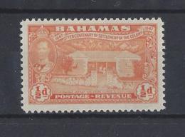 BAHAMAS.......KING GEORGE VI.(1936-52)....HALFd.....SG178.........MH... - Bahamas (...-1973)