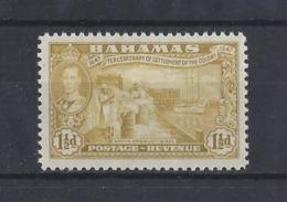 BAHAMAS.......KING GEORGE VI.(1936-52)....1 AND HALFd.....SG180.........MH... - Bahamas (...-1973)