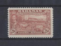 BAHAMAS.......KING GEORGE VI.(1936-52)....2 AND HALFd.....SG182.......MH... - Bahamas (...-1973)