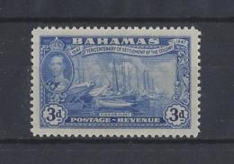 BAHAMAS.......KING GEORGE VI.(1936-52)....3d.....SG183.......MH... - Bahamas (...-1973)