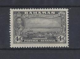 BAHAMAS.......KING GEORGE VI.(1936-52)....4d.....SG184.......MH... - Bahamas (...-1973)