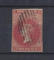 """AUSTRALIA..."""" SOUTH AUSTRALIA..""""....QUEEN VICTORIA.(1837-01).....2d.........SG2.......USED..... - Oblitérés"""