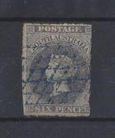 "AUSTRALIA..."" SOUTH AUSTRALIA..""....QUEEN VICTORIA.(1837-01).....6d.........SG28.......USED..... - 1855-1912 South Australia"