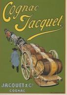 CP - Publicité - Cognac Jacquet -(Jacquet Et Cie à Cognac -Charente). - Pubblicitari
