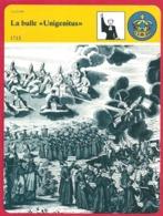 """La Bulle """" Unigenitus """". Louis XIV. Jansénisme. Théologie. Philosophie. Religion. - Histoire"""