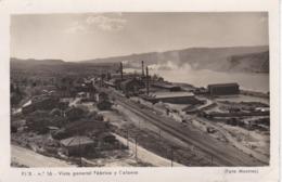 16 POSTAL DE FLIX DE UNA VISTA GENERAL DE FABRICA Y COLONIA DEL AÑO 1956 (MESTRES) - Tarragona