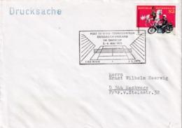 Österreich Austria 1975 Cover; Tennis: Davis Cup; Austria - England Match; Tennis Court Cancellation; Horse Motorrad - Tenis
