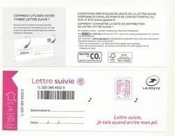 ADHESIF CIAPPA LETTRE SUIVIE NOUVEAU MODELE  Fond Pointillé  Cote  12.euros - Frankrijk