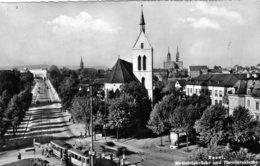 (126)  CPSM  Basel  Bale Wettsteinbrucke  Und  Theodorskirche  (Bon Etat) - BS Basel-Stadt