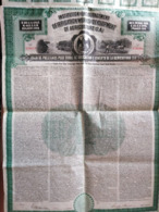 MEXICO / INSTITUTION FOR ENCOURAGEMENT OF IRRIGATION WORKS AND DEVELOPMENT OF AGRICULTURE  $100 - Bank & Insurance
