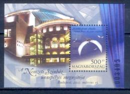O1- Hungary 2002 New National Theater. - Hungary