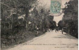 TAUSSAT Les BAINS - La Route D'ARES - Autres Communes