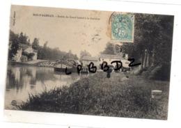 CPA - 47 - MAS D'AGENAIS - Bassin Du Canal Latéral à La Garonne - Péniche - Animation - Pas Courante - Courrier Taxé - France