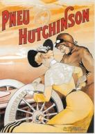 """CP - Publicité - PNEU """"HUTCHINSON"""" (Exécutée Par L'artiste  Ernest Montaud). - Advertising"""