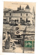 CPA - 47 - MAS D'AGENAIS - Château De Malvirade - Animation - Le Jardinier Et Son Chien -  Pas Courante - France