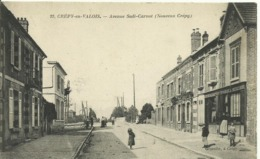 CPA DEP60 - Crépy-en-Valois. - Avenue Sadi-Carnot (Nouveau Crépy) - Crepy En Valois