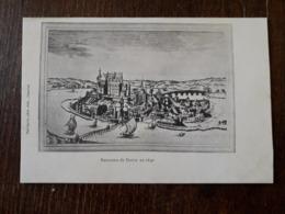 L24/114 DECIZE . Panorama De La Ville En 1640 - Decize