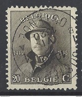 Nr 170 Centraal Gestempeld - 1919-1920 Albert Met Helm