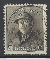 Nr 170 Centraal Gestempeld - 1919-1920 Roi Casqué