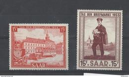 Nr 329+342 ** - 1947-56 Occupation Alliée