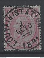 Nr 46 Centraal Gestempeld - 1884-1891 Leopold II