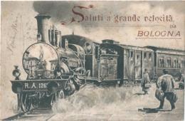 ITALIE ITALIA BOLOGNA Saluti A Grande Velocità Da Bologna - Bologna