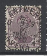 Nr 139 Centraal Gestempeld - 1915-1920 Albert I