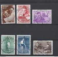 Nr 1225-30 Centraal Gestempeld Antwerpen - Postmark Collection