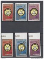 873 - 75   ** Getand + Ongetand - Burundi