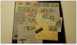 1 Postkaart En 9 Omslagen - Congo Belge