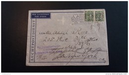 Omslag Nederland Naar New York - Lettres & Documents