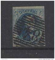 Nr 4 Met Balkstempel 84 Moeskroen - Postmark Collection