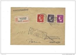 Omslag Van Amsterdam Naar Parijs - 1891-1948 (Wilhelmine)